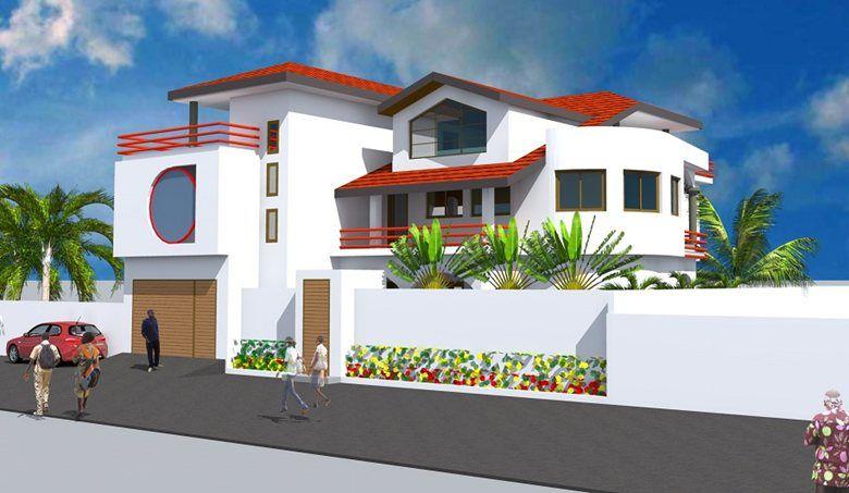 Projet De Construction D 39 Une Villa A Lome Au Togo Lome