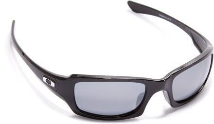 Oakley Fives Squared Polarized Sunglasses Polished Black Black Iridium  Polarized d5e18205f24