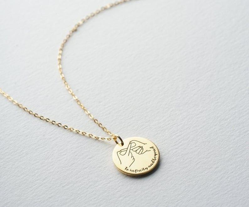 Custom Infinity Necklace