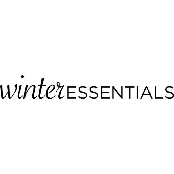 Winter Essentials text ❤ liked on Polyvore featuring text