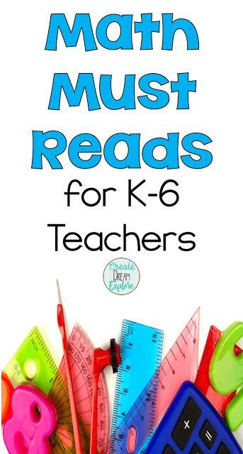 The Best Math Resources for K-6 Teachers | Math resources, Math and ...