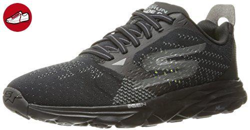 Performance Go Run 400, Chaussures de Running Homme, Noir (Black/Gray), 45.5 EUSkechers
