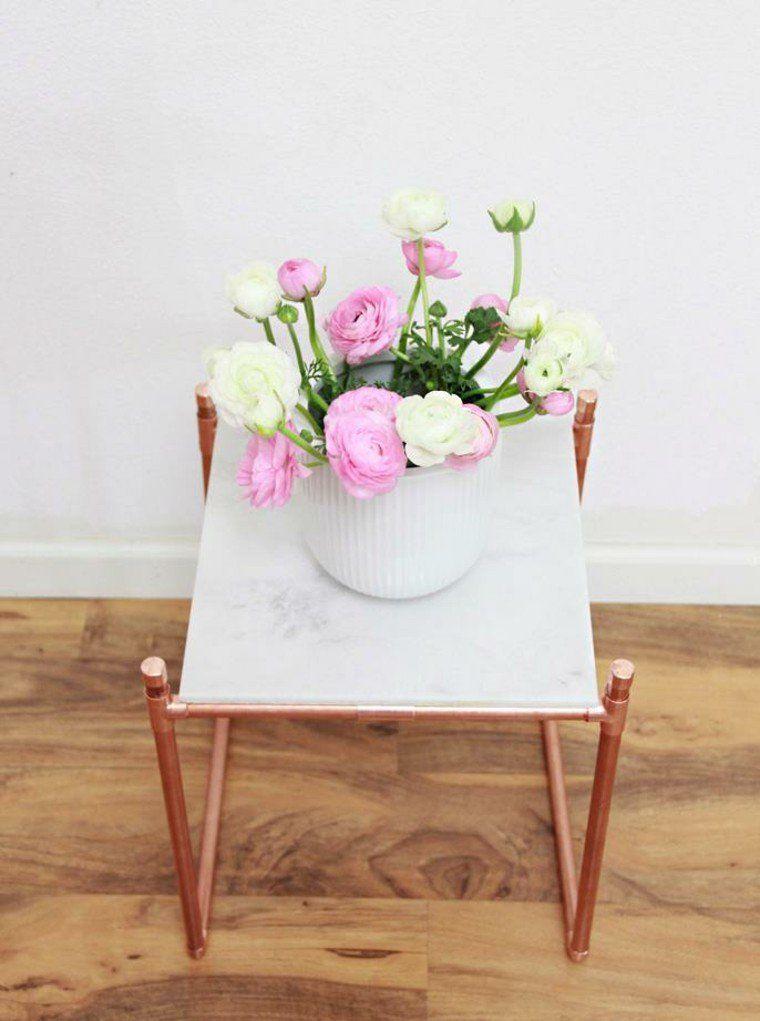 Porte plante et support pot de fleur intérieur de style moderne