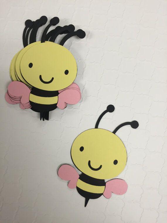 Qué va a Bee Abeja género revelan Baby por KikiDesignsCreations ...