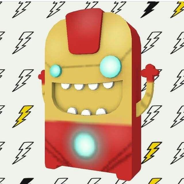 #IronNawis hecho por @thomassoto7 en la #NawisApp. #IronMan #Marvel