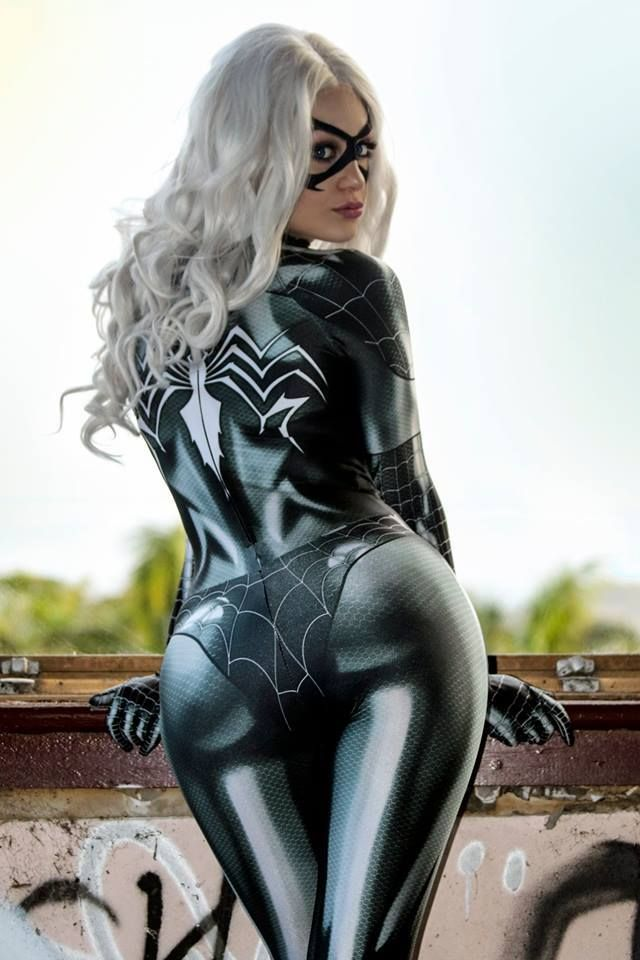 ab1ec3e578a Black Cat Symbiote from Marvel cosplay by Zenith Cosplay photo by Hamish M  #blackcatcosplay #marvelcomics #cosplayclass