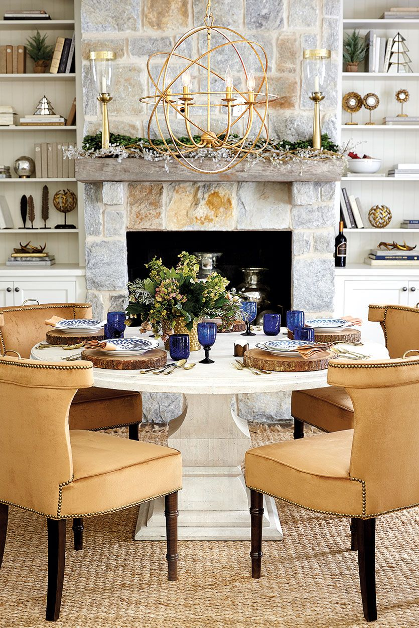 Simple Dining Room Decor For A Transitional Season: Dress Up Your Dining Room For Fall With These Easy Table