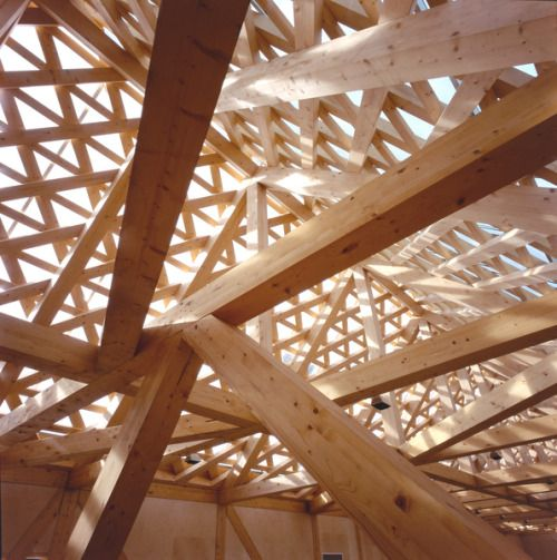 Roof detail at the Tautra Maria Convent.