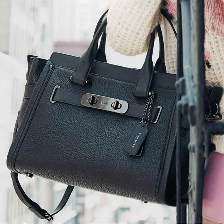 a56973a8ea Coach Swagger Carryall in Nubuck Pebble Leather - sale handbags ...