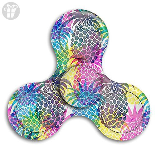 Tri Spinner Fid Toy Hand Spinner Camouflage Pineapple Premium