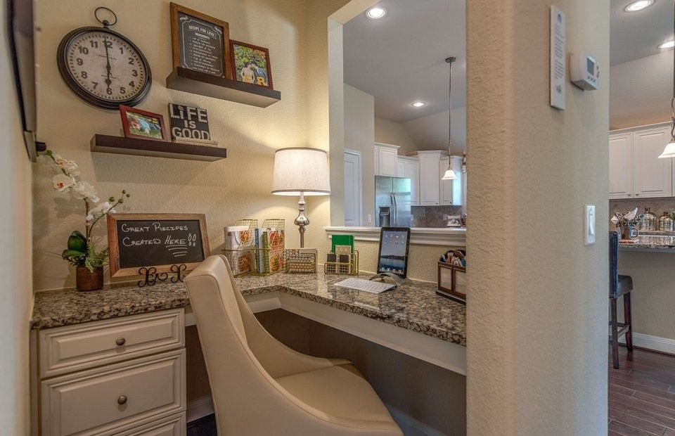 The Planning Center is a unique feature in new homes by Pulte ...