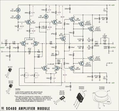 Wiring Diagram Of Booster Amplifier