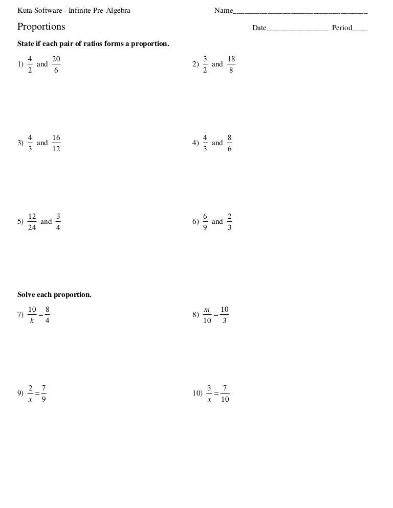 Solving Proportions Worksheet Answers Proportion Hw In 2020 Proportions Worksheet Ratio And Proportion Worksheet Solving Proportions