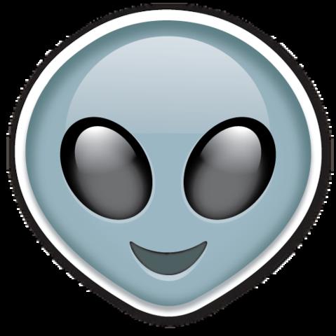 Extraterrestrial Alien Emojistickers Com Alien Emoji Emoji Emoji Stickers