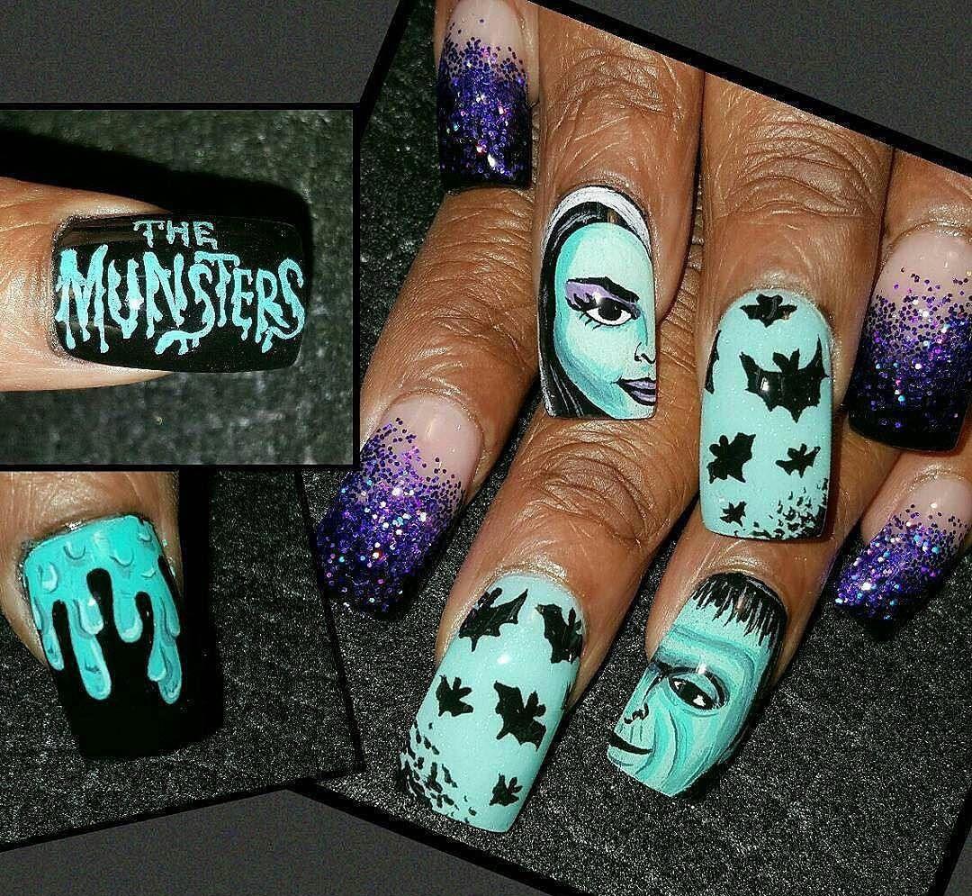 Halloween 2017 Nail Art - New Nail Art Designs for Halloween ...