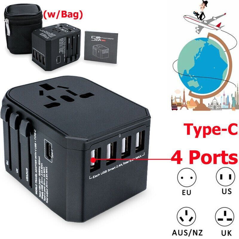Best Travel Adapter for sale | eBay