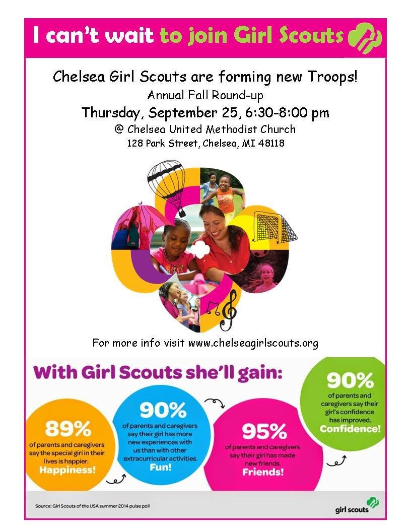Girl Scouts Adult Recruitment Flyer Google Search Girl