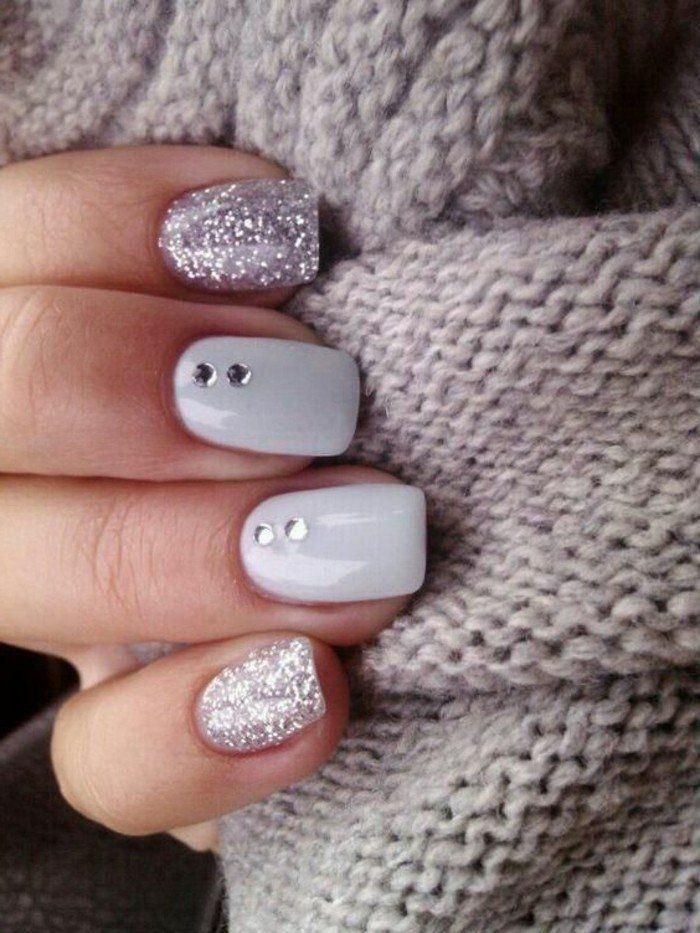 Trends in nail decor! 62 variations in pictures!