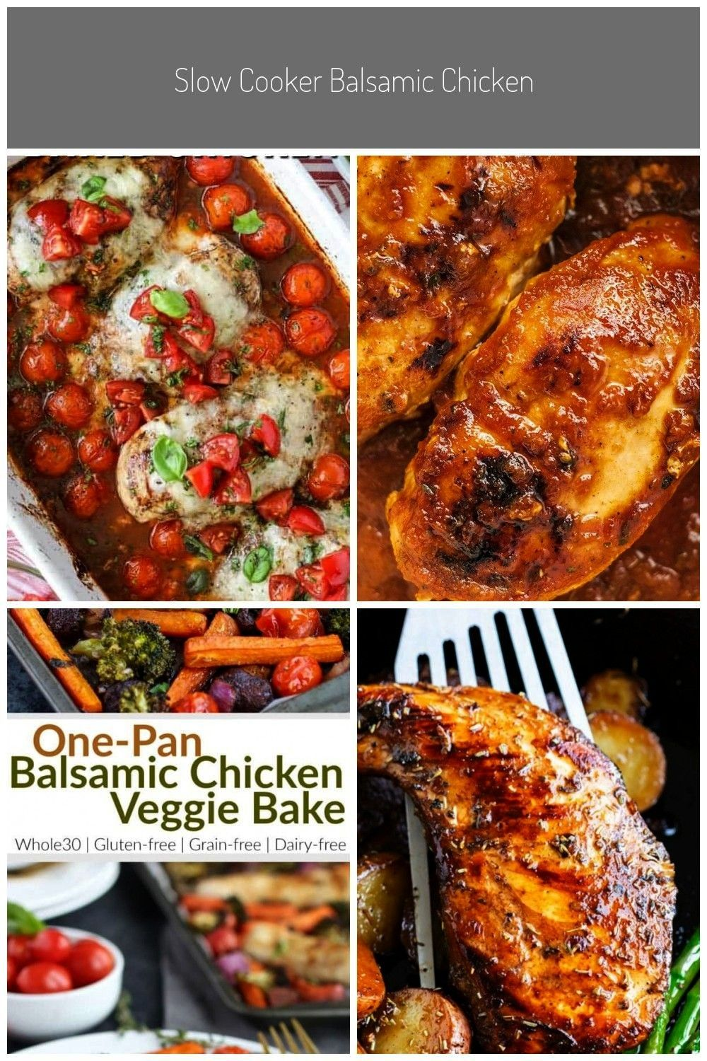 Chicken is best served over pasta (like spaghetti). Juicy balsamic chicken breasts in a garlic, bas