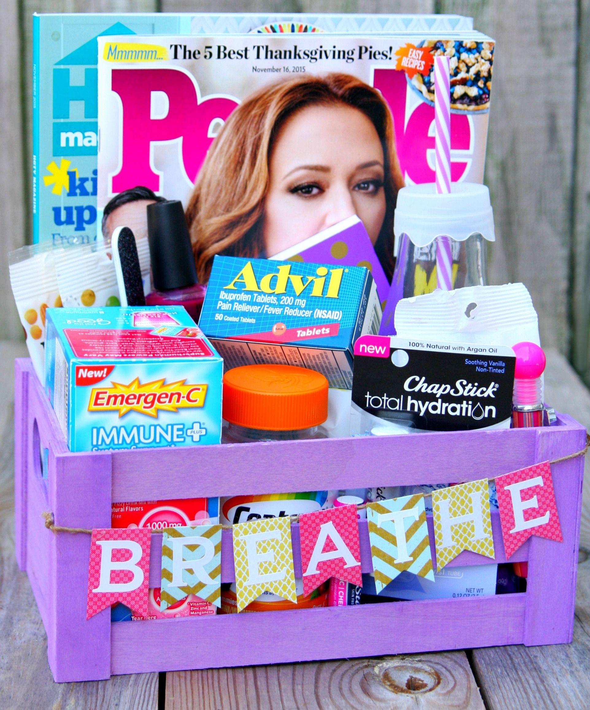 New Mom's Survival Kit Mom survival kit, New mom