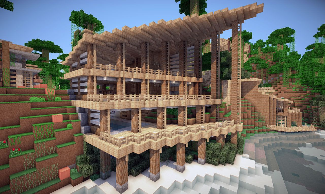 Jungle House on World of Keralis Minecraft Project ...