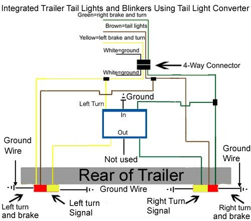 How To Integrate My Blinkers Into My Brake Lights On My Lights 10 Frame Floor Plans