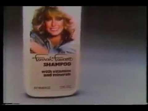 Farrah Fawcett Shampoo - Retro TV Commercial - 1978 - YouTube