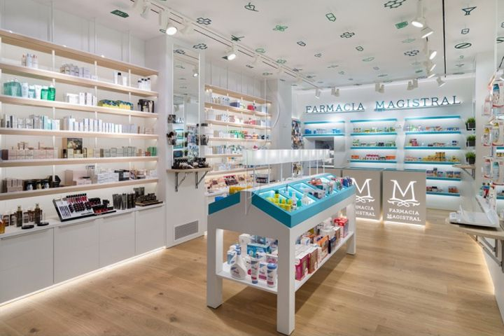 magistral pharmacy by marketing jazz murcia spain retail design blog