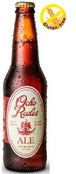 Comprar Cerveza Ocho Reales Ale Gluten Free Al Mejor Precio Online Cerveza Ale Sin Gluten