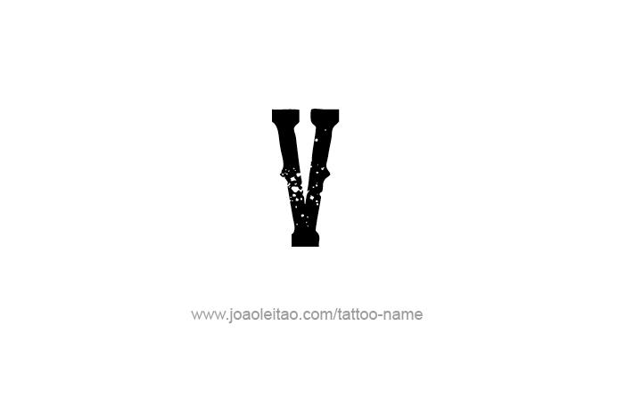Gallery For Gt V Letter Design Tattoo V Tattoo Tattoo Lettering Tattoo Designs