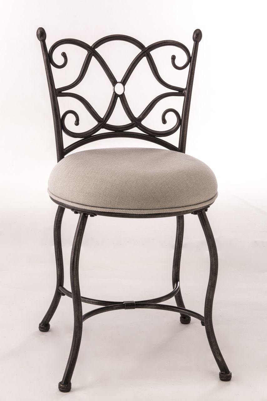 Lovely Hillsdale Emerson Vanity Stool