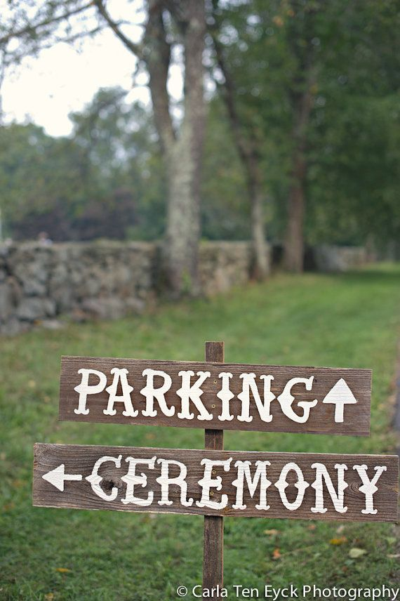 Wedding Signs Directions 11 Best Photos