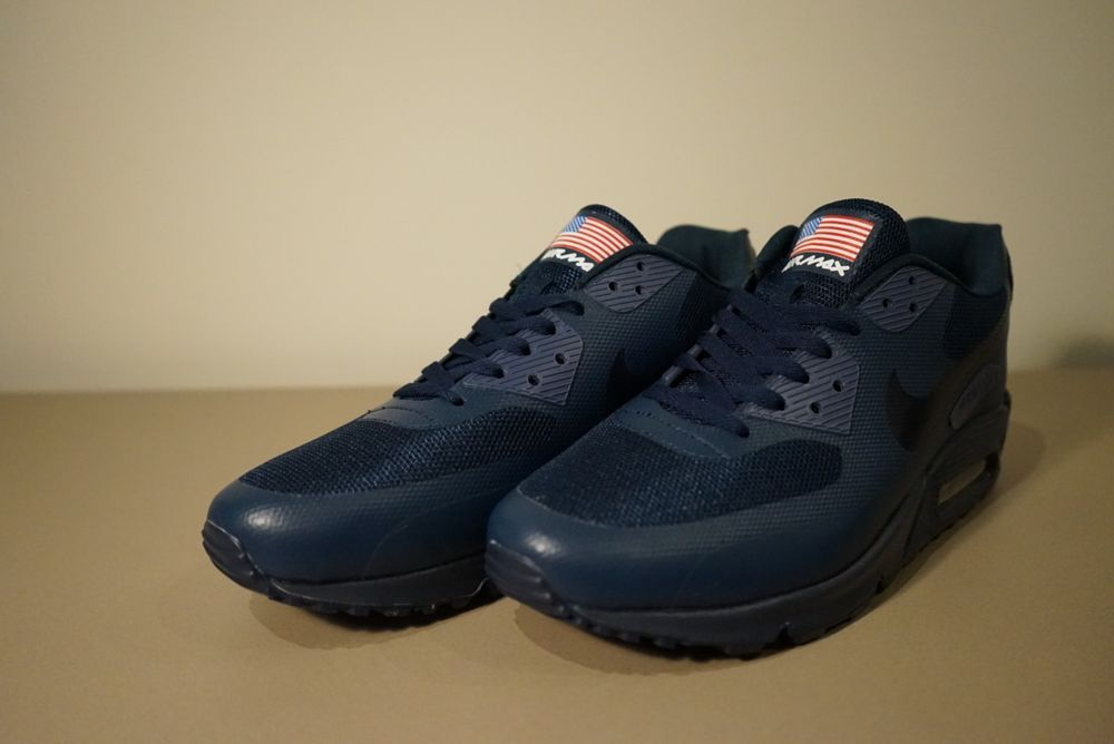 magasin d'usine eb2c5 53976 Nike Air Max 90 Hyperfuse USA Independence Day Midnight Navy ...
