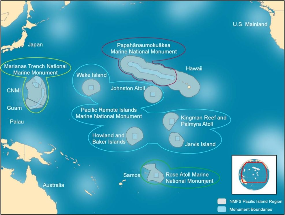 For Marine Reserves Size Matters Largest Ocean Remote Island National Monuments