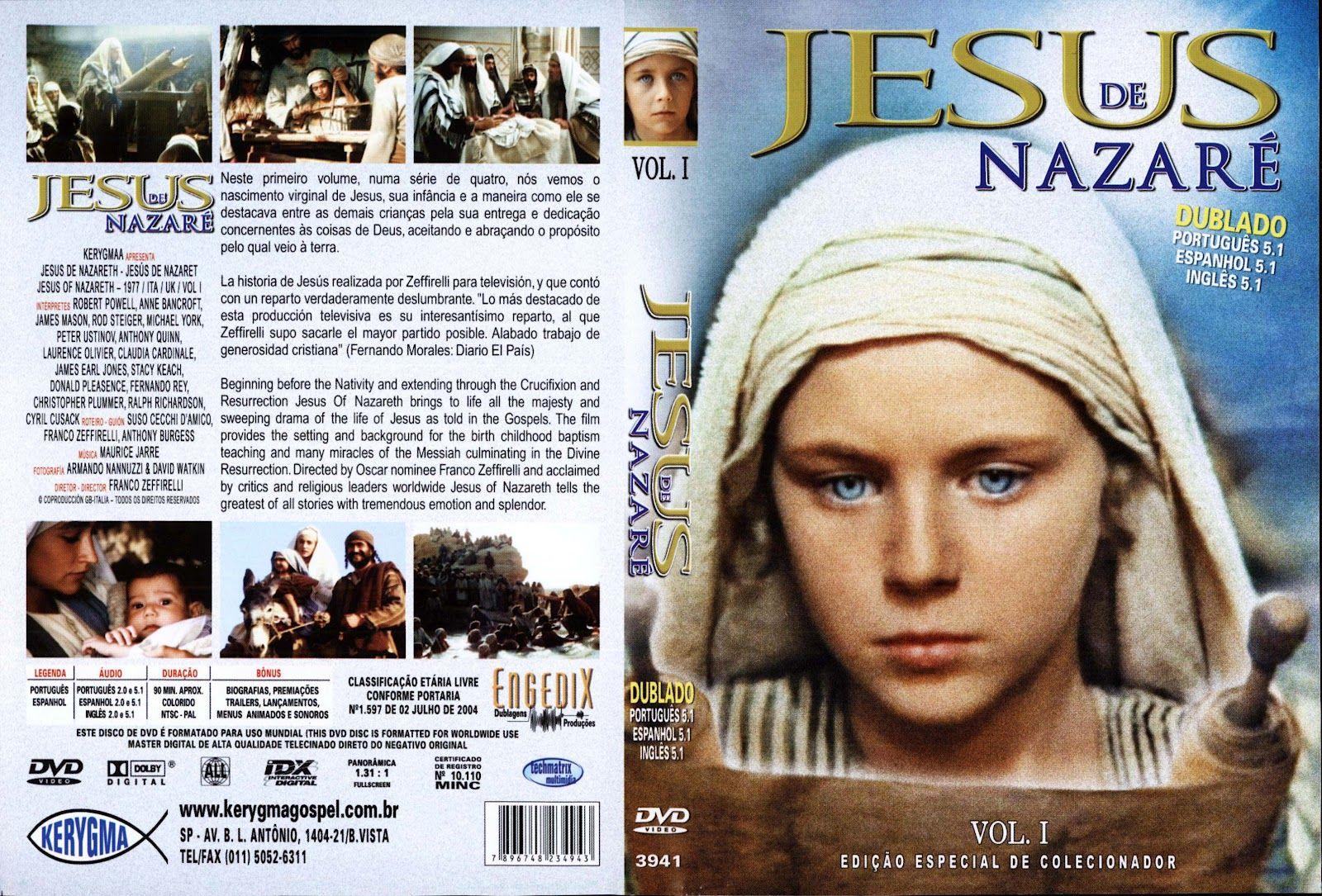 SOPRO CULTURAL: DVD JESUS DE NAZARÉ (1977) EDIÇÃO DE COLECIONADOR