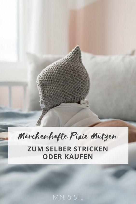 Märchenhafte Pixie Mützen für kalte Tage – Mini & Stil
