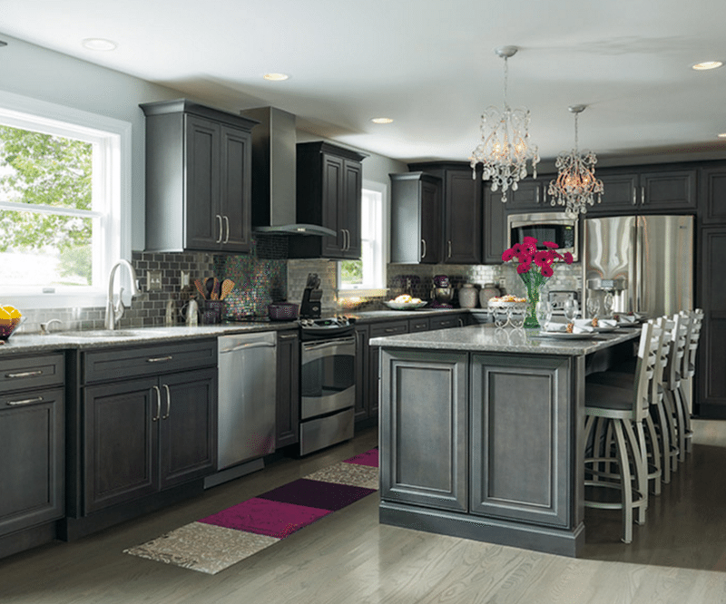 9 gray kitchens that will make you rethink your color on kitchens that ll make you want to redo yours id=72012
