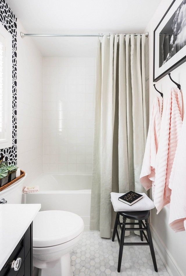 8 Steps to a More Stylish Bathroom White bathrooms, Bath and