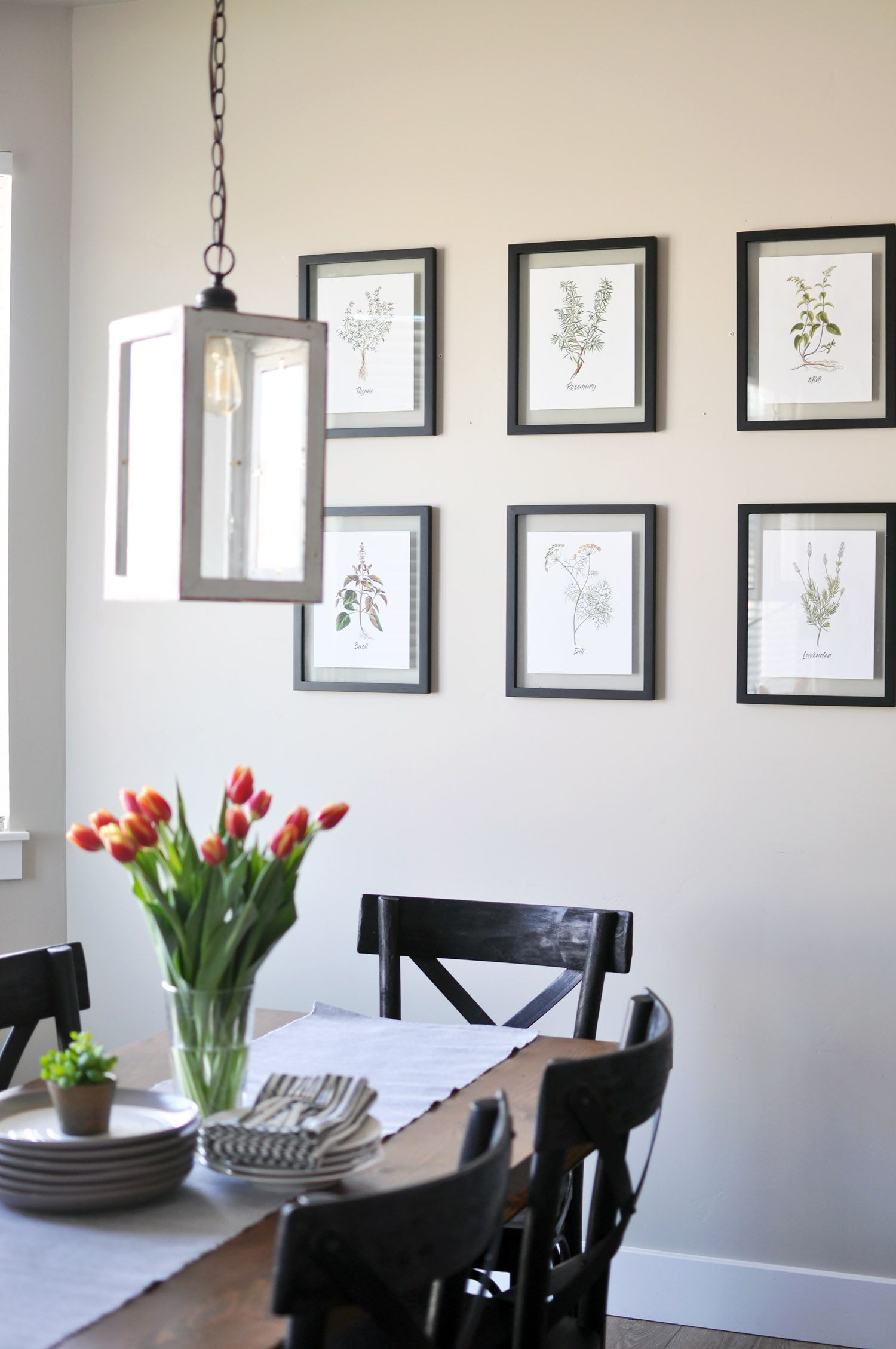Free Set of 6 Spring Herb Printables   Pinterest   Herbs, Decorating ...