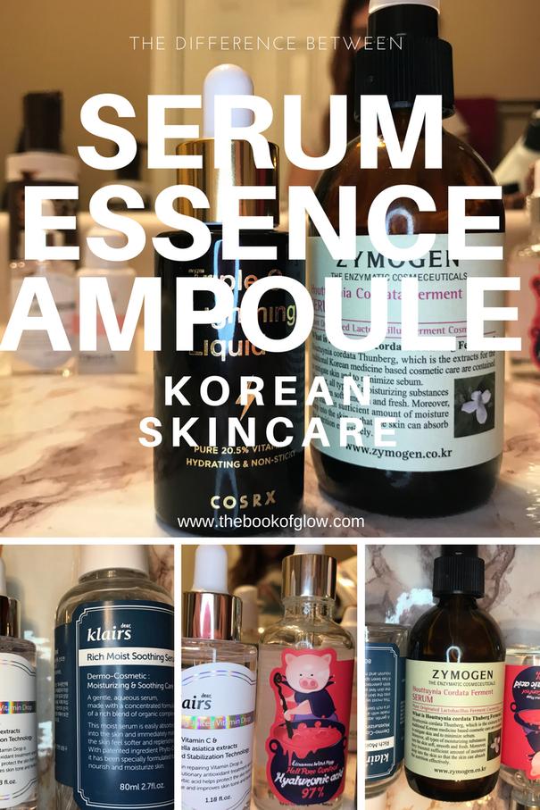 Difference Between Korean Ampoule Serum And Essence Serum Korean Skincare Skin Care