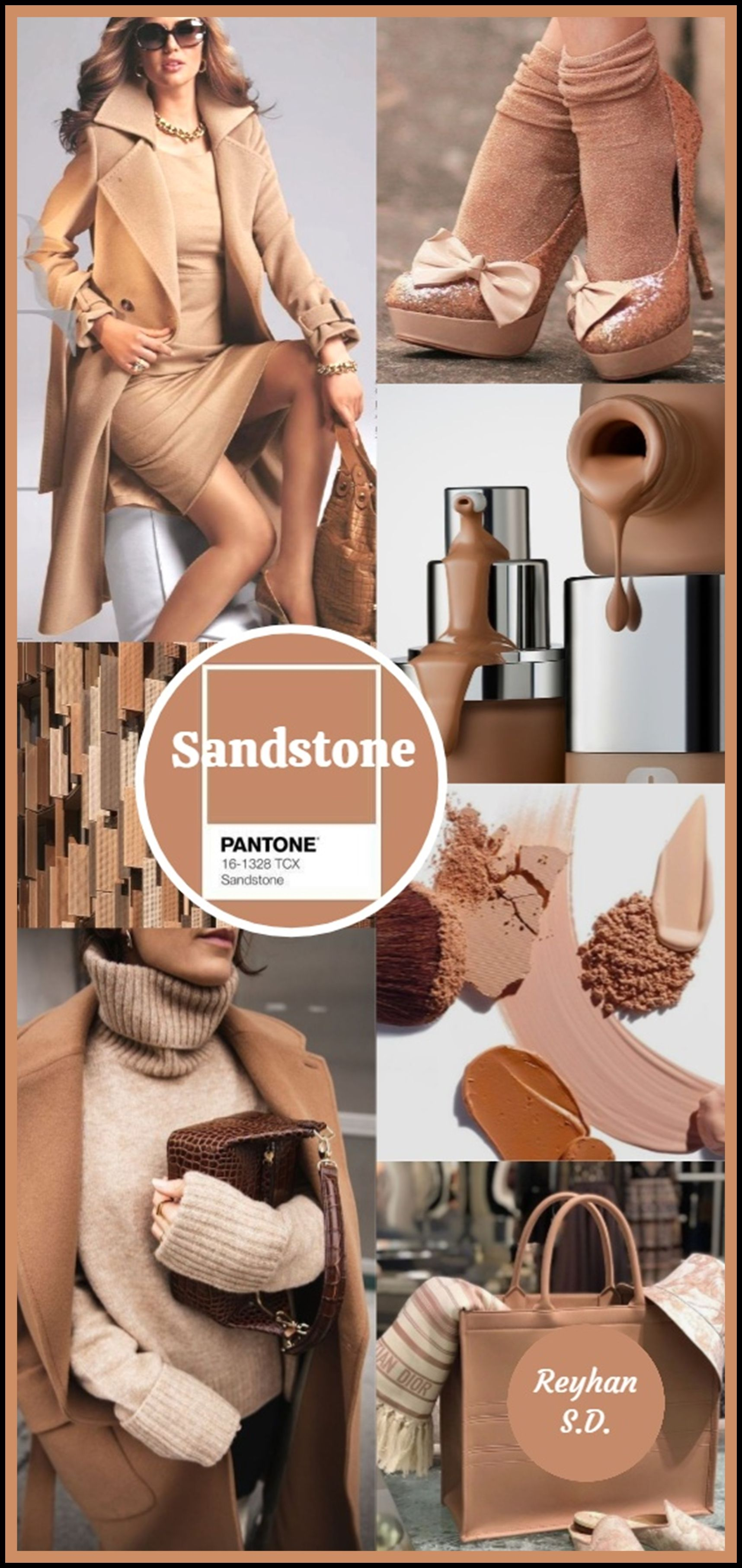 Sandstone Pantone Aw 2020 2021 Nyfw Color By Reyhan S D In 2020 Color Trends Fashion Pantone Color Fashion Colorful Fashion