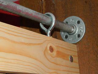 DIY barn door project