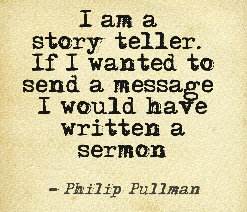 I am a story teller quotes authors writers