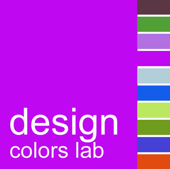 """logo """"design colors lab""""  dettagli"""