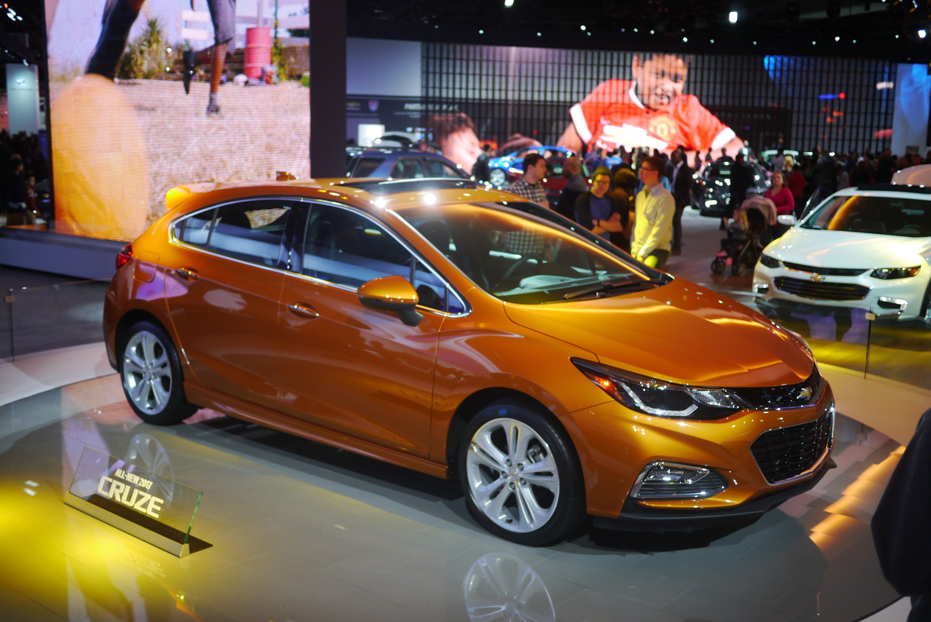 2017 Chevy Cruze Hatch at NAIAS 2016 the Detroit Auto Show