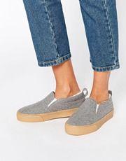 Zapatillas de lona DYNAMIC de ASOS