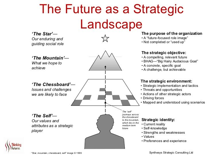 The Future As A Strategic Landscape The Strategic Objective  A