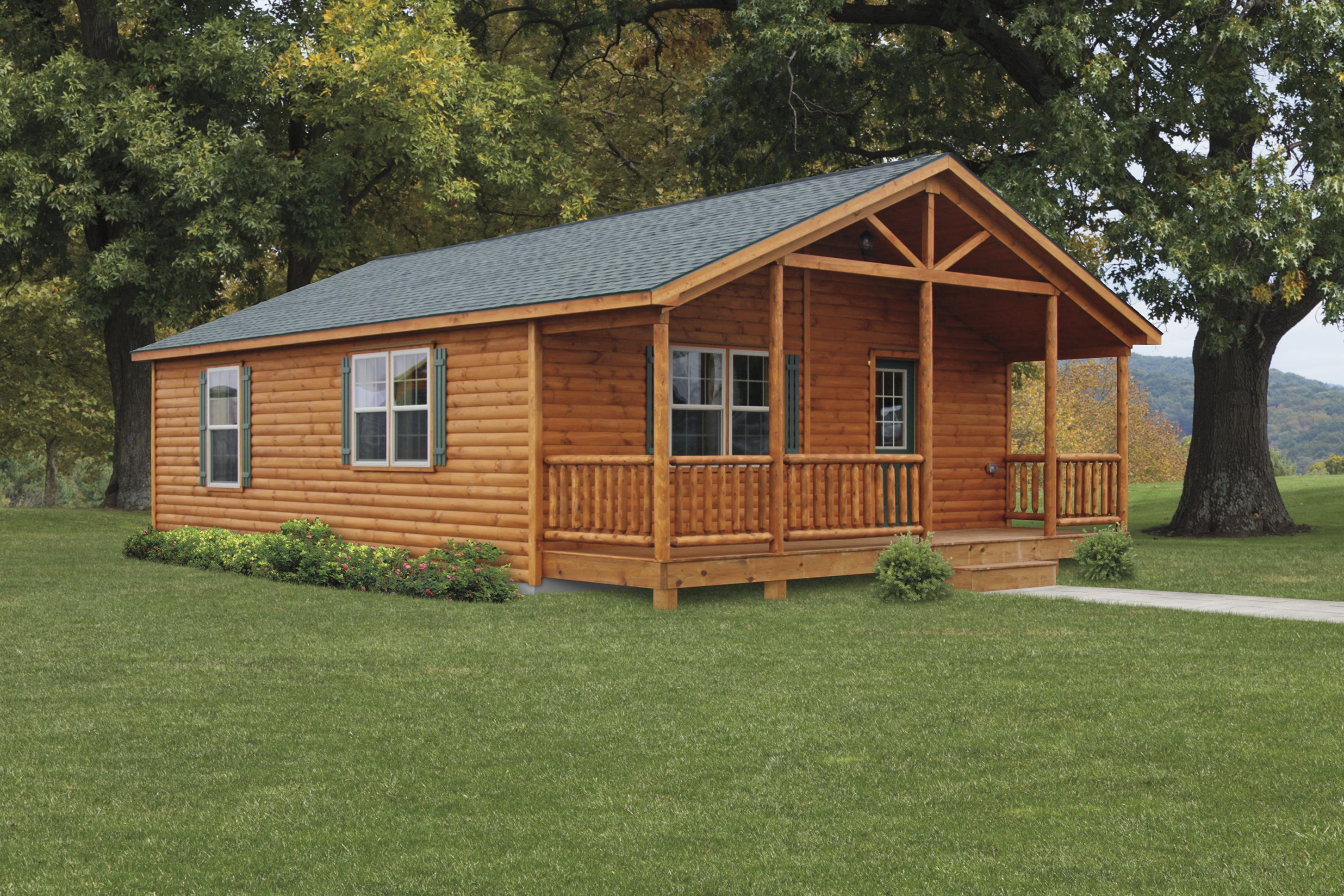 original to the cozy cabin company the double module settler is