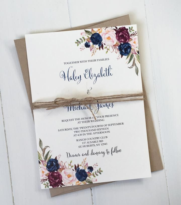 A beautiful selection of printable wedding invitations from rustic - fresh invitation cards for new shop opening