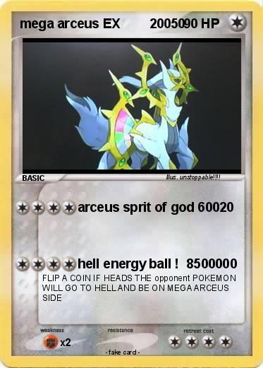 Pokemon mega arceus ex 20050 flash pokemon tcg cards pok mon 3ds pokemon - Pokemon arceus ex ...